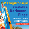 Patrick Chappert-Gaujal en plein air